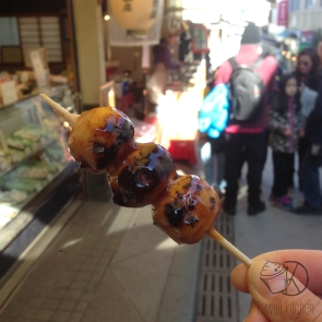 Odango - very tasty!